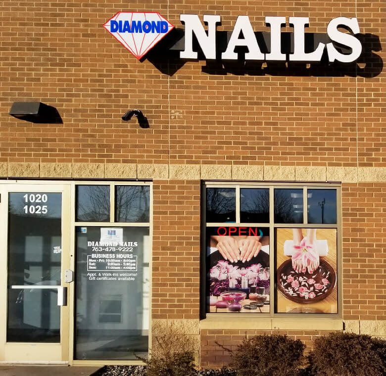 FEW WORDS ABOUT US – Diamond Nails & Spa in Medina | (763) 478-9222